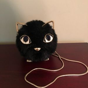 Kate Spade Cat Poof Purse